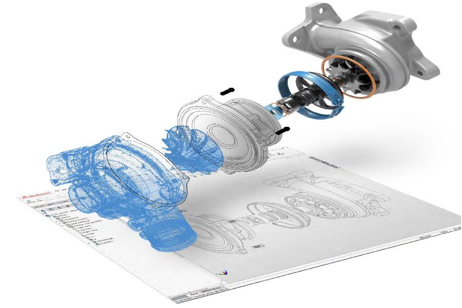 3DSL Reverse Engineering Service using Geomagic
