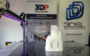 3DP Workbench 3D Printing differential housing for automotive industry