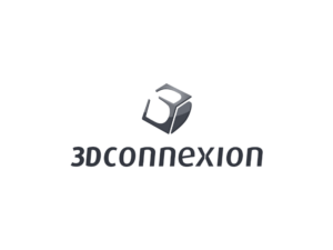 Logo for 3DConnexion stacked