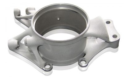 EOS metal sintered 3d printed automotive knuckle