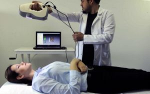 Artec Eva handheld 3d scanner used for soft tissue tracking in medical industry