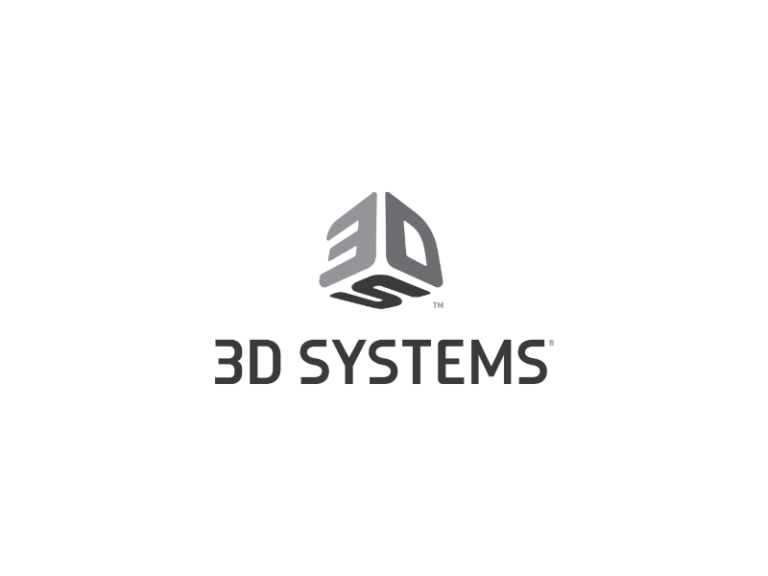 Logo for 3D Systems stacked