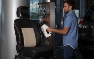 3D Scanning Car Seat with Artec Eva