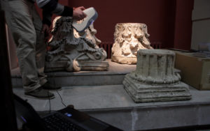 3D scanning heritage with the Artec Eva